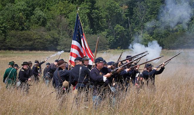 Help, Civil war reenactments?