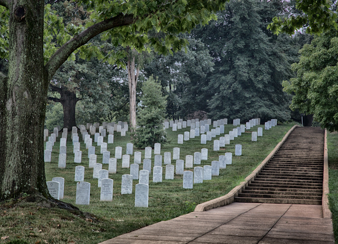 visit to arlington national cemetary Arlington national cemetery is the final resting place of over 400,000 men and women an average of 25 burials are performed each day arlington national cemetery covers 624 acres of land.