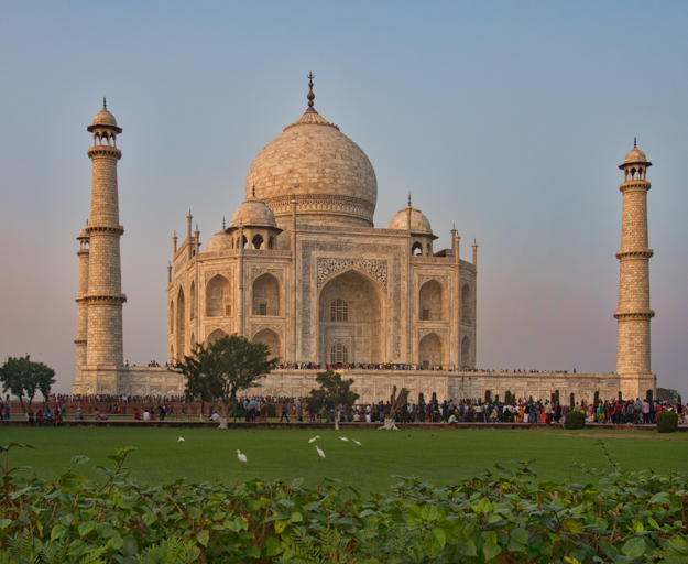 Taj Mahal in the Late Afternoon Light