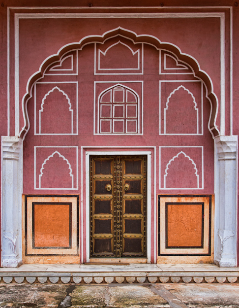 Pink City Door, Jaipur, India