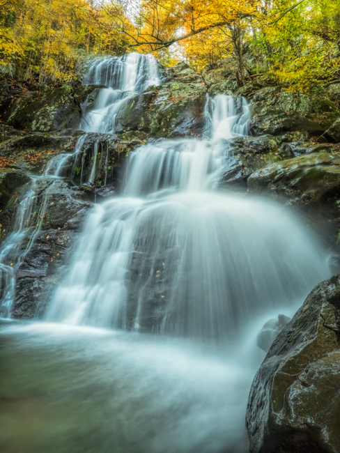 Photographing Dark Hollow Falls In Shenandoah National