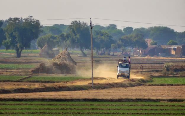 Trucking Down the Dirt Farm Road