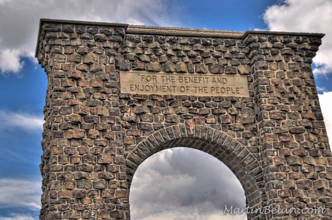 Yellowstone - Roosevelt Arch