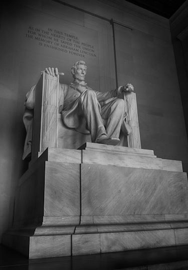 Statue of Abraham Lincoln, Lincoln Memorial
