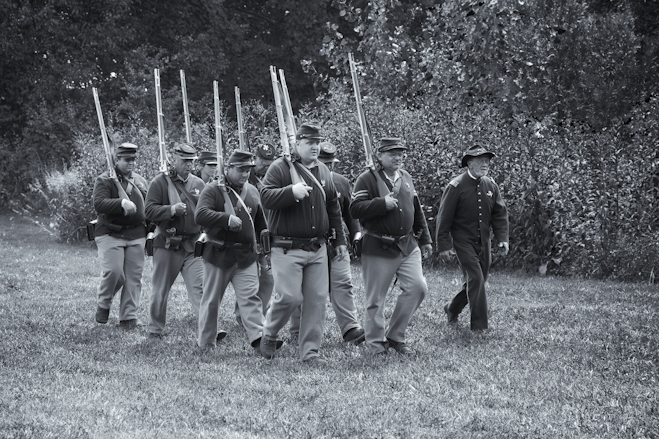 Firing Squad Marches in