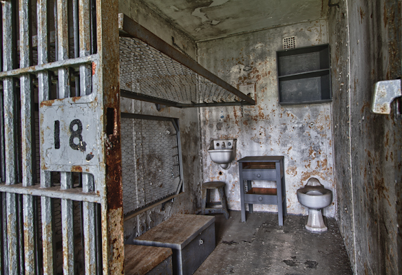 Cell #18 Mansfield Reformatory