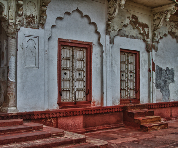 Two Doors, Agra Fort