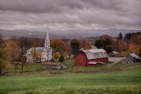 The Town of Peacham Vermont