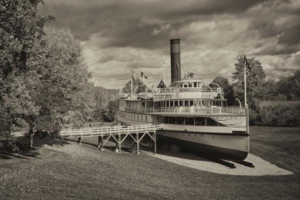 Ticonderoga on Dry Land, Shelburne Museum