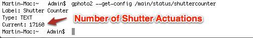gPhoto2 Command Line Mac Terminal