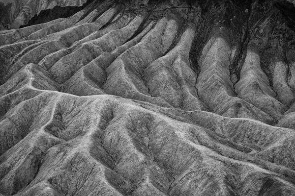 Death Valley Zabriskie Point Alien Crevices