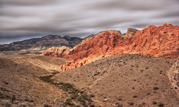 Red Rock Canyon - Layers of Color