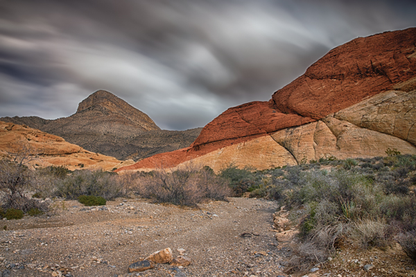 Red Rock Canyon Sweeping Sky