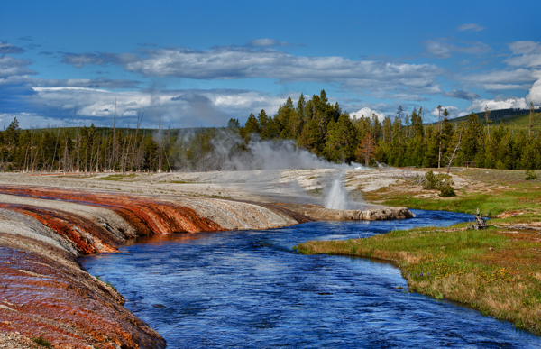 Firehole River, Black Sand Basin, Yellowstone
