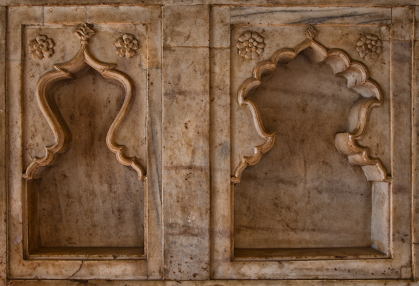 Alcove Patterns, Agra Fort