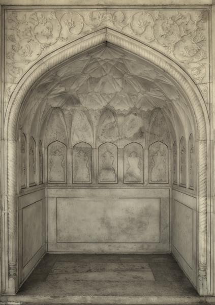 Decorated Alcove, Agra Fort