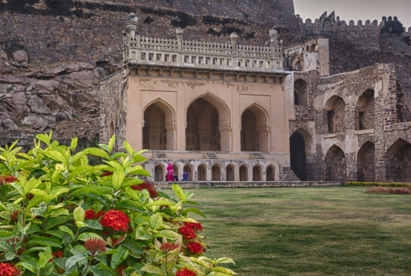 Golconda Fort Mosque