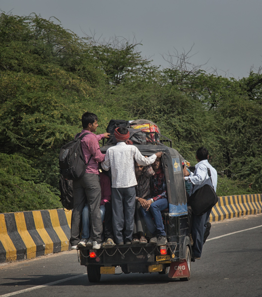 India, Hitching a Ride