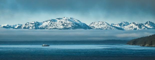 Alaskan Landscape Panorama