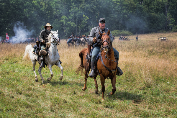 Civil War, the Cavalry Charges