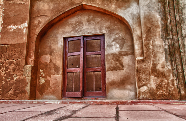 Door, Agra Fort