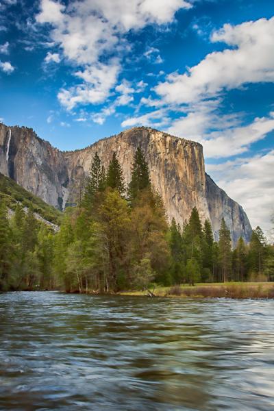 Yosemite El Capitan, Topaz Adjust, Simplify