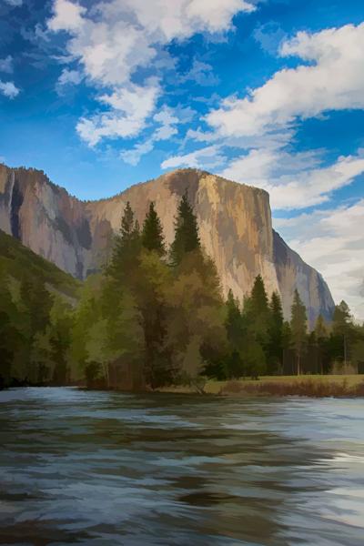 Yosemite, El Capitan Topaz Simplify