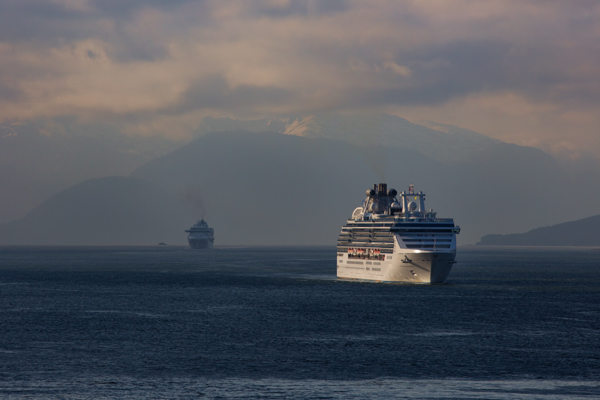 Cruise Ships Heading to Juneau