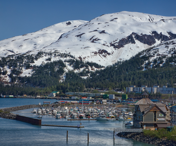 The Harbor at Whittier Alaska