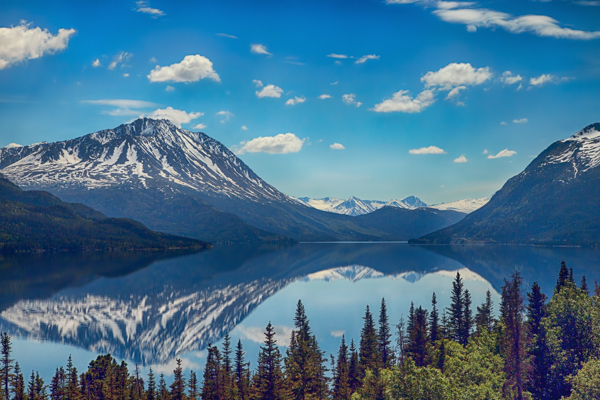 Yukon Mountain Reflection