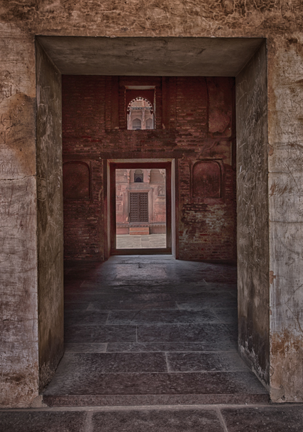 Door within a Door, Agra Fort