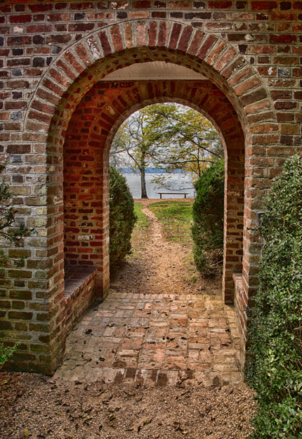 Pathway to the James River