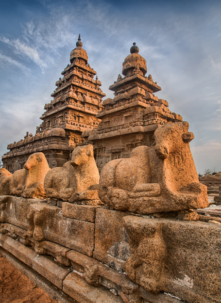 Shore Temple, Mamallapuram, India