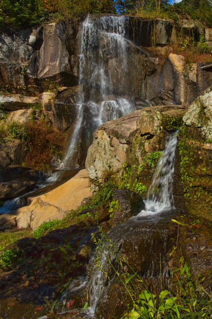 Waterfalls at the Japanese Garden