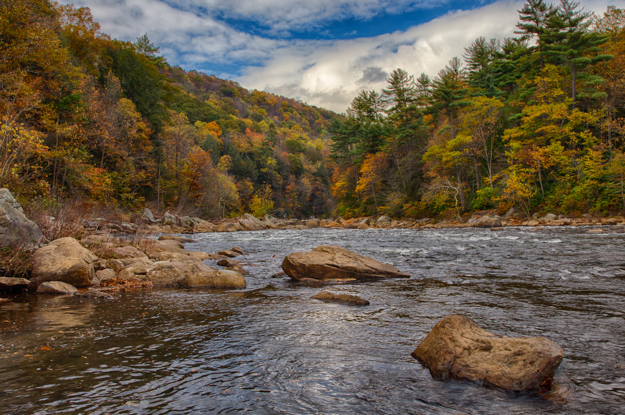 Rapids on the Youghiogheny River
