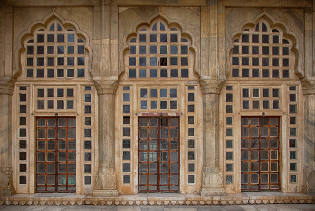 Three Square Doors, Amer Fort, Rajasthan