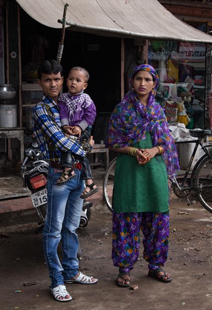 Rajasthani Family, India