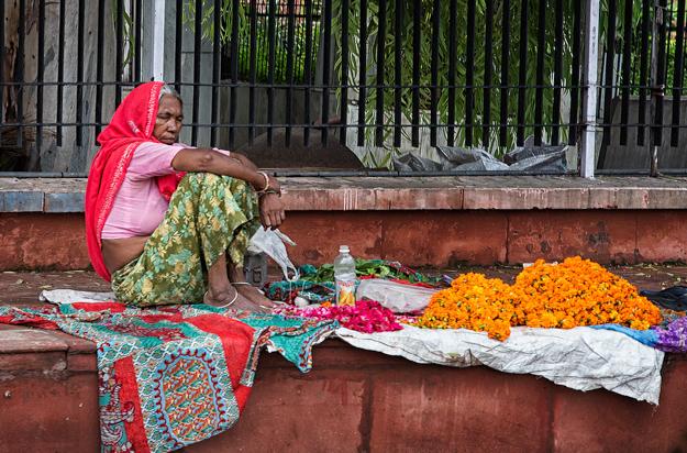 Selling Flowers, Jaipur