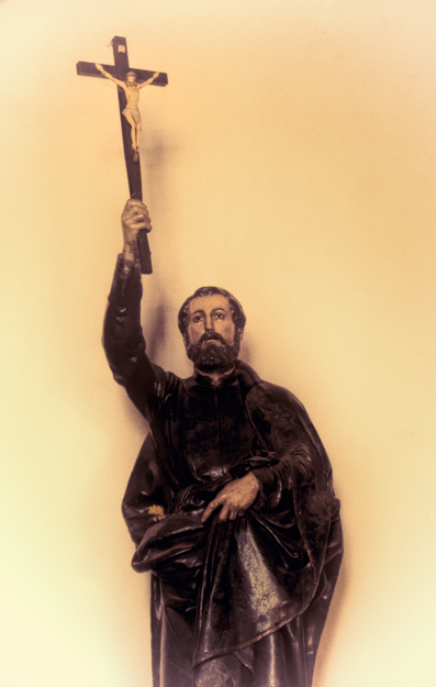 Statue of St. Francis Xavier, Goa, India