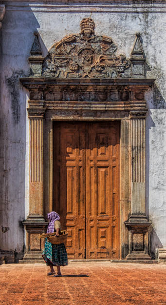 Church Door, Se Cathedral, Goa