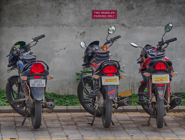 Two Wheeler Parking Only
