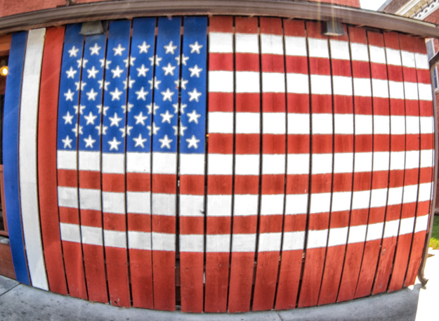 Old Glory Fisheye