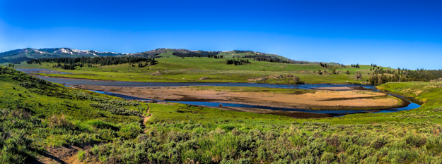 Yellowstone, Lamar Valley Pano