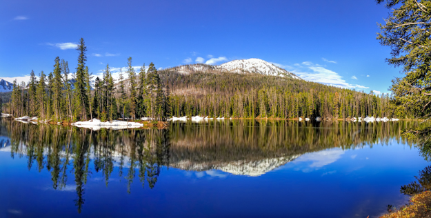 Sylvan Lake iPhone Panorama, Yellowstone