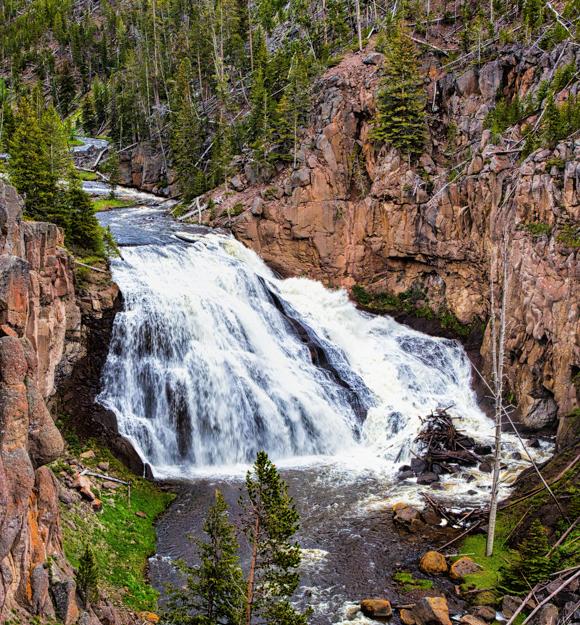 Gibbon Falls, Yellowstone National Park