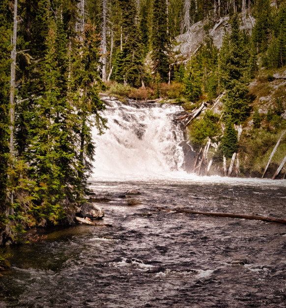 Lewis Falls, Yellowstone National Park