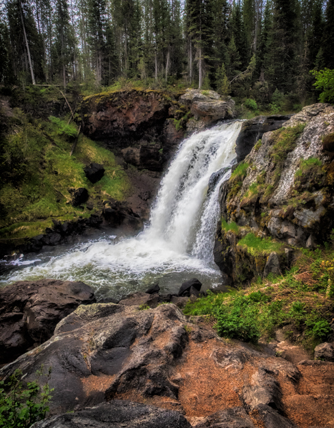 Moose Falls, Yellowstone National Park