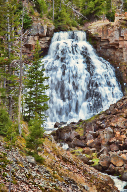 Rustic Falls, Yellowstone National Parks