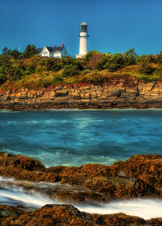 Cape Elizabeth Twin Lights - Eastern Light