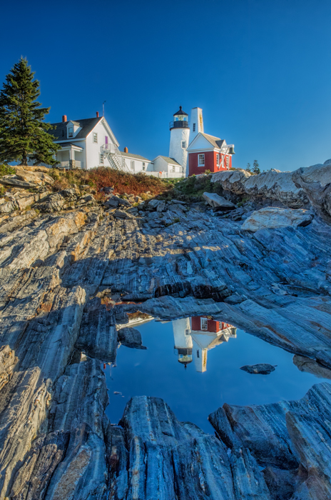 Pemaquid Point Lighthouse Reflection